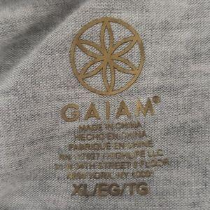 GAIAM Tops - Gaiam Oversized Slouchy Open Back Yoga Top